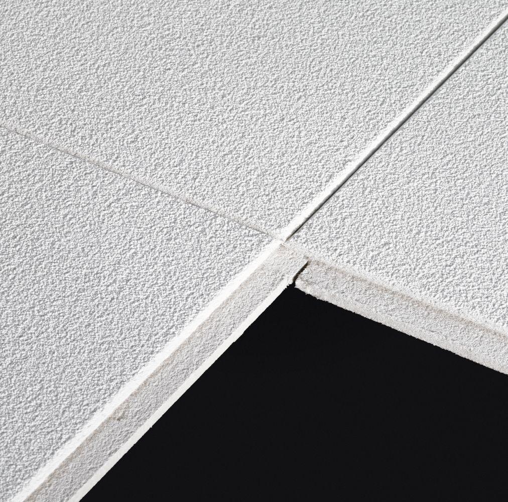 Sahara HomeStyle Ceilings Smooth Paintable 16 x 16 Tile