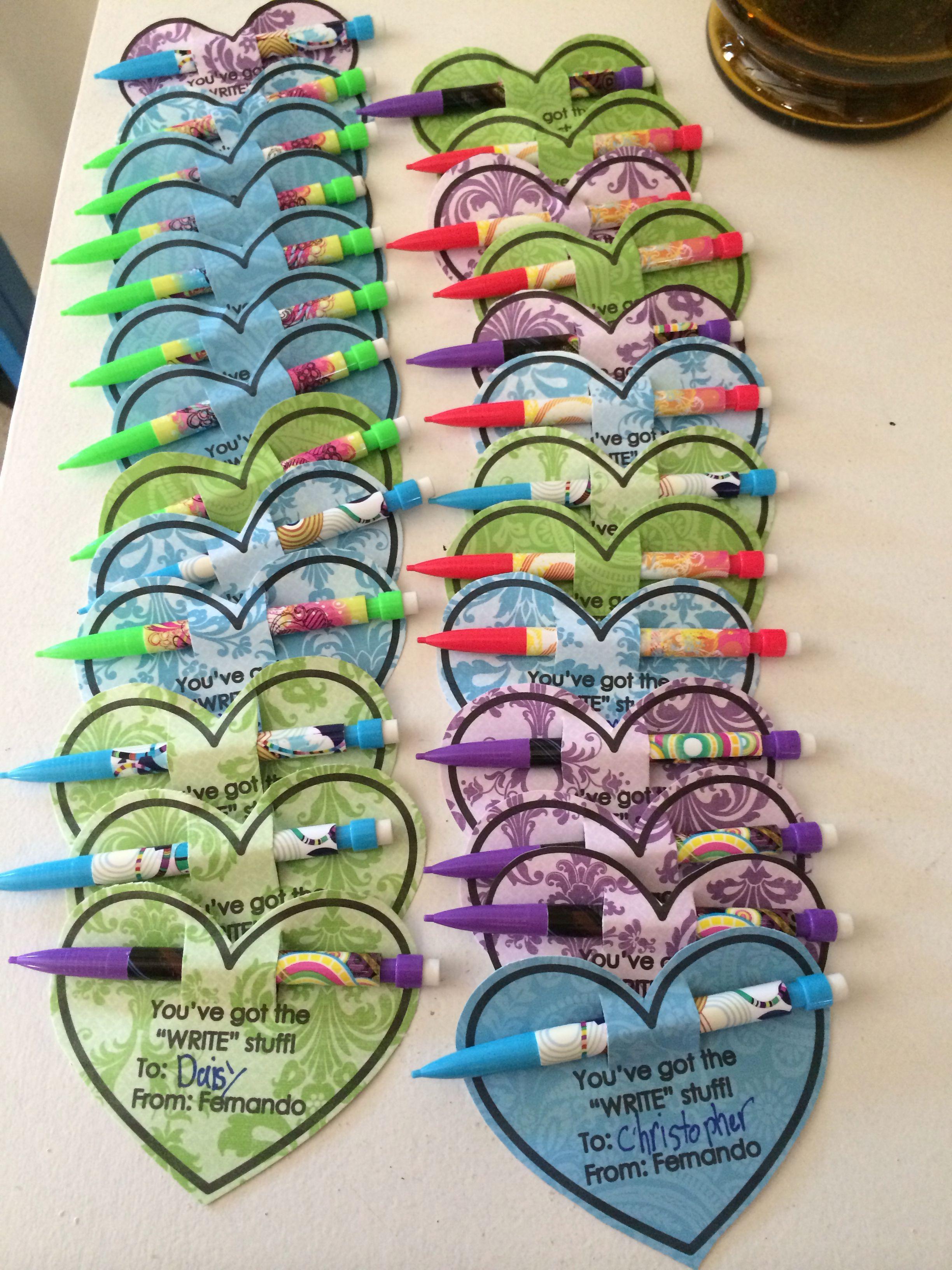 3rd Grade Valentine Cards