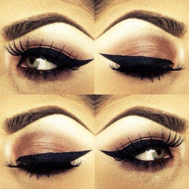 .@thassianaves | Olho mais lindo ever! Amo o delineado mais grosso... #makeup #makelover #insp... | Webstagram - the best Instagram viewer
