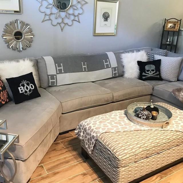 10+ Amazing Richmond Tan Living Room Sectional