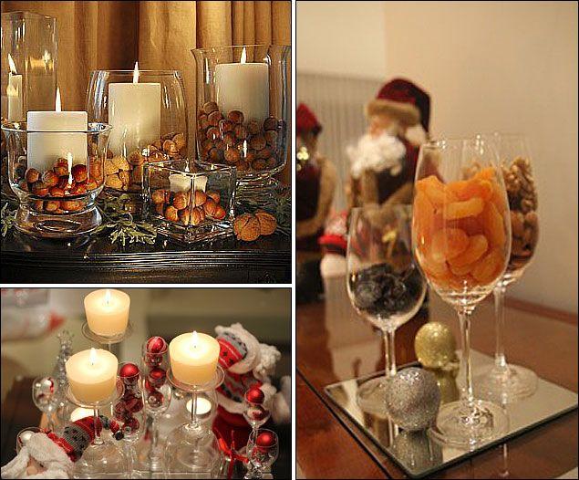 Centros de mesa navidad pinterest centros de mesa for Centros de mesa navidenos elegantes