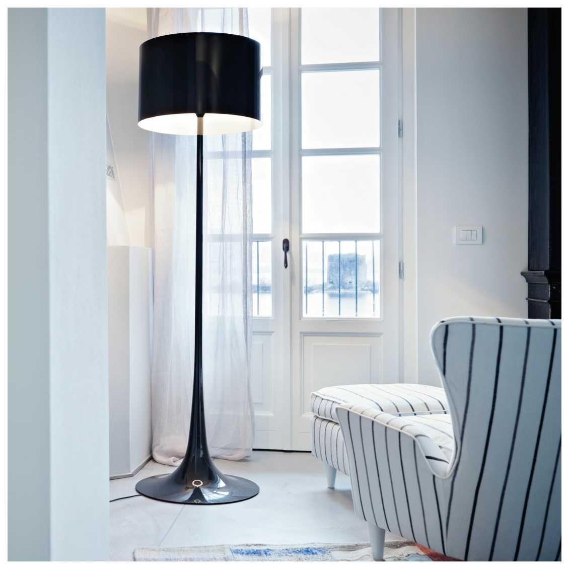 Spun Light F Vloerlamp Misterdesign Vloerlamp Moderne Lampen Interieur