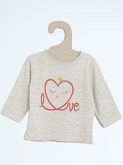 Camisetas - Camiseta de manga larga estampada - Kiabi  604cebace45