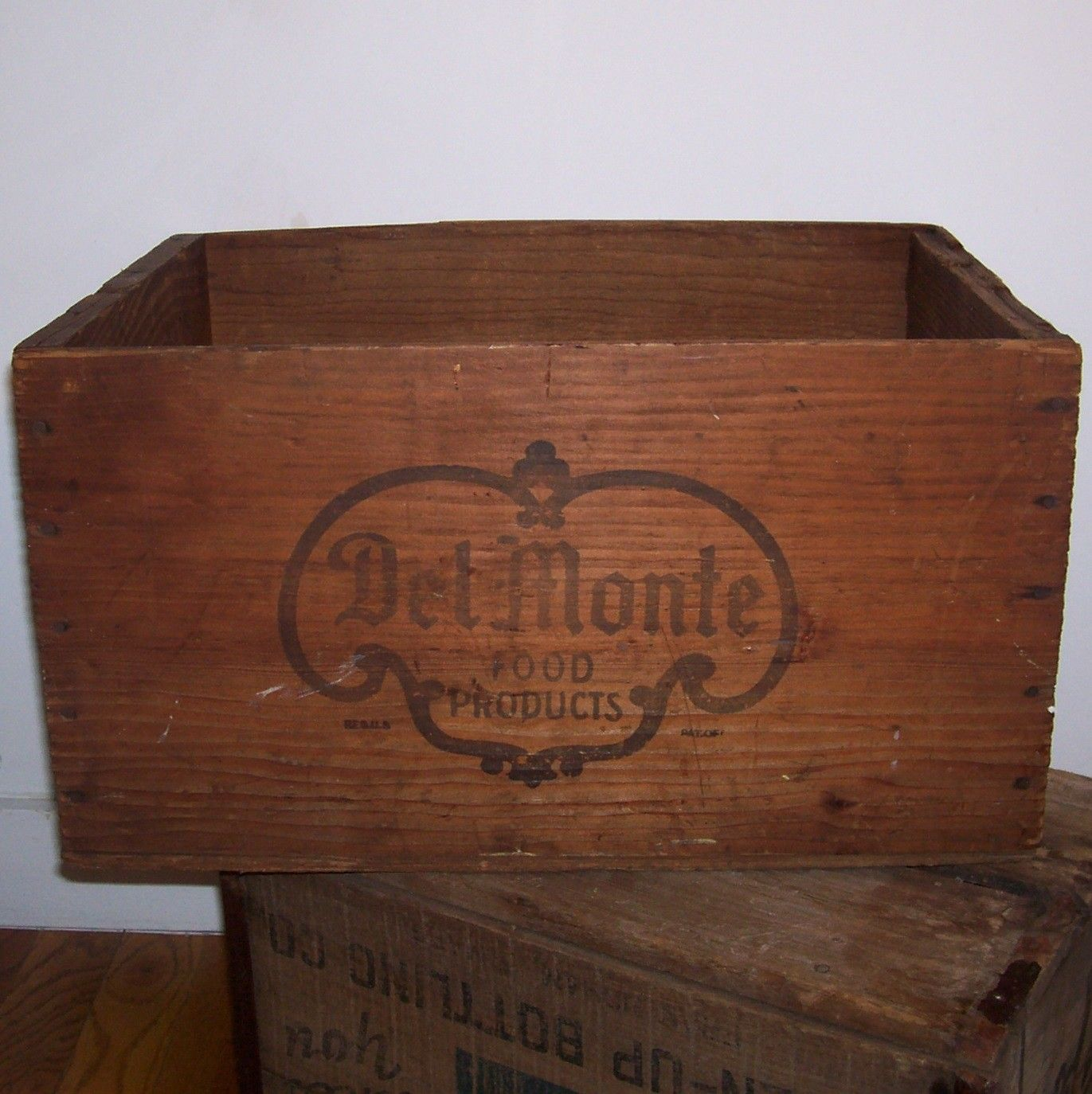Custom Rustic Wooden Boxes Crates Shabby Trugs Storage display wedding home