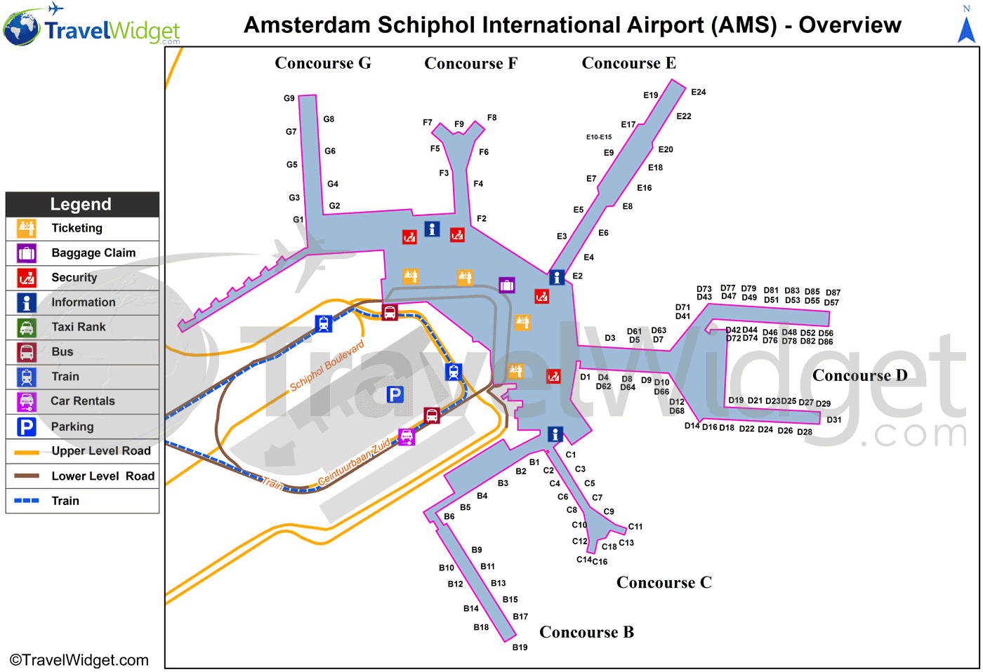 amsterdam schiphol airport map Map Of Amsterdam Schiphol Airport Terminal Google Search amsterdam schiphol airport map