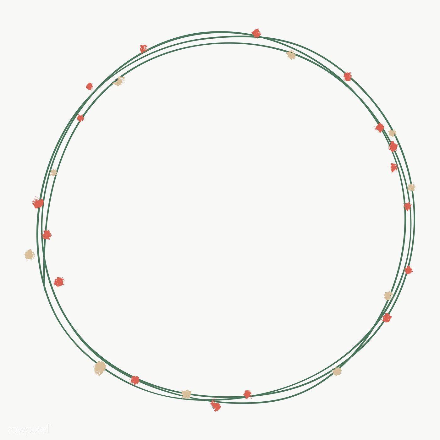 White Circle Frame Png Circle Frames Border Design Circle Borders