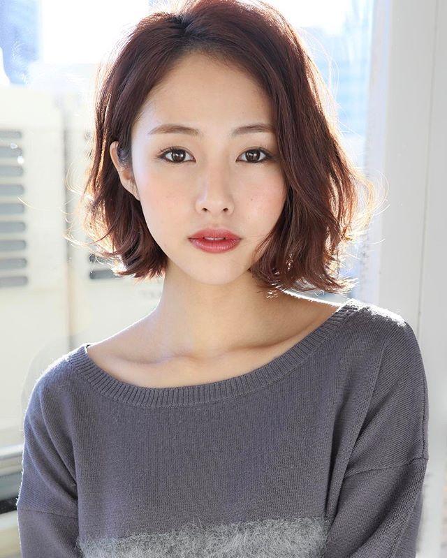ボブ 美容師 美容 撮影 撮影モデル サロモ サロンモデル モデル ヘア