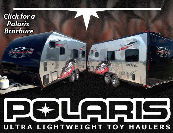 Polaris Toy Haulers By Livinlite Rv