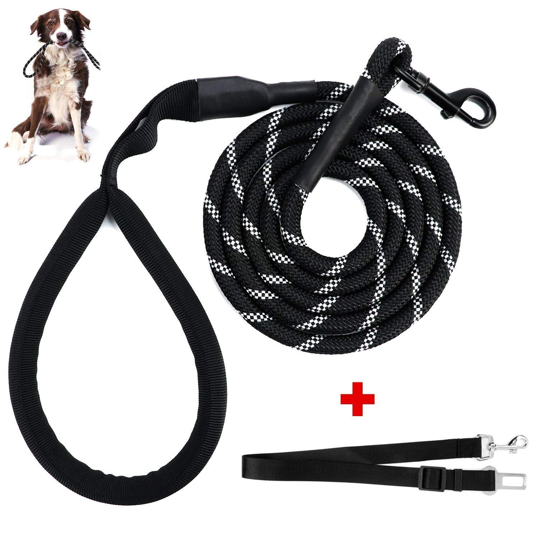 Dogjog Dog Leash Dog Training Leash 6 Feet Reflective Durable
