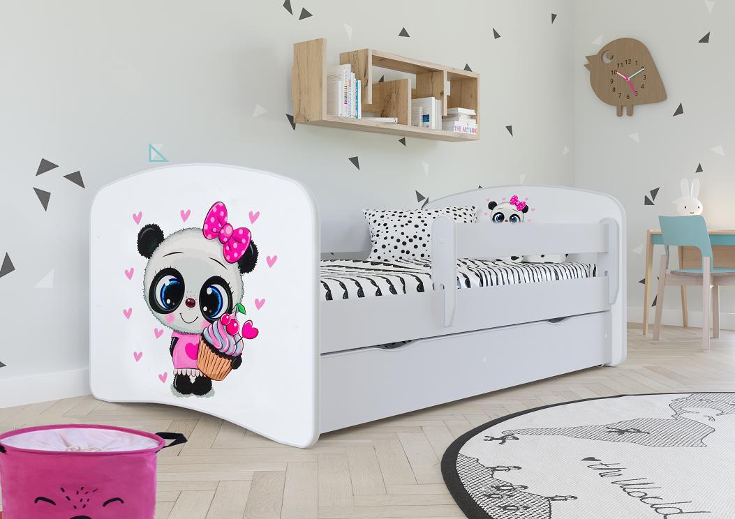 Lozko Dla Dziecka Z Szuflada Materac 160 80 Biale 8399807685 Oficjalne Archiwum Allegro Bed With Drawers Bed Bed Frame