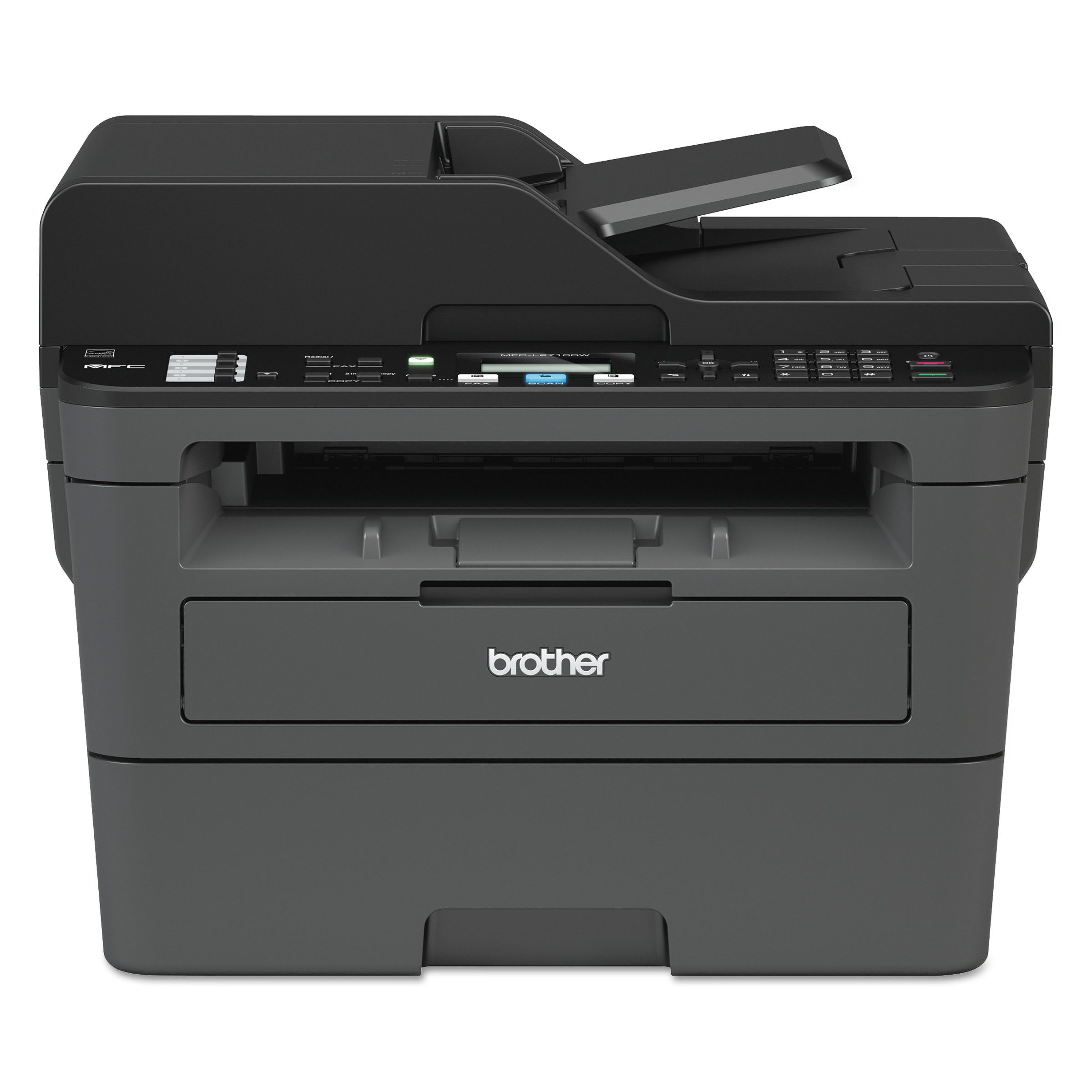 Brother Mfc L2710dw Compact Laser Printer Copy Fax Print Scan