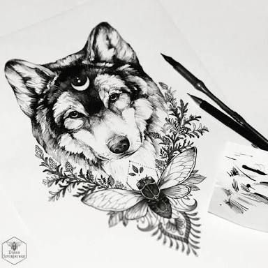 Image Result For Abstract Wolf Tattoo Tattoos Wolf Tattoos Animal Tattoos