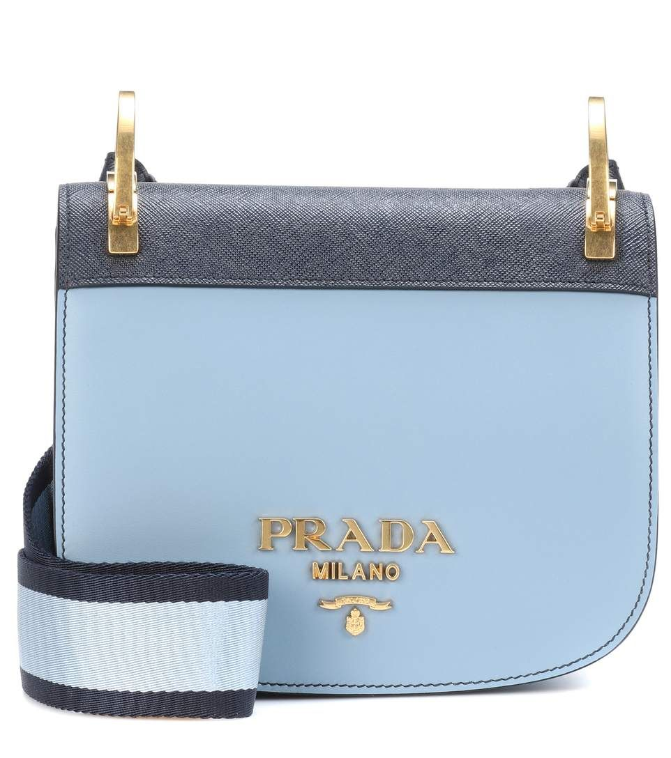 Cross Body Bags - Pionniere Bag Leather Royal Blue - blue - Cross Body Bags for ladies Prada 1ILghSt