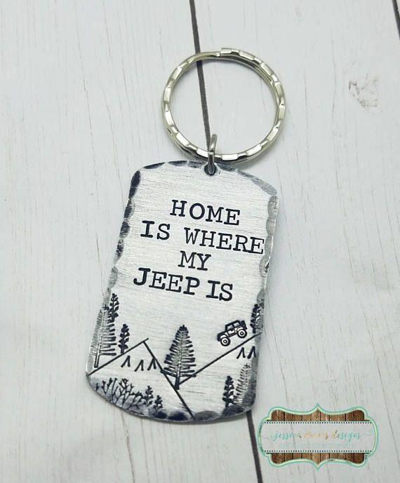 4 Wheeling Keychain Home is where my is Key Chain