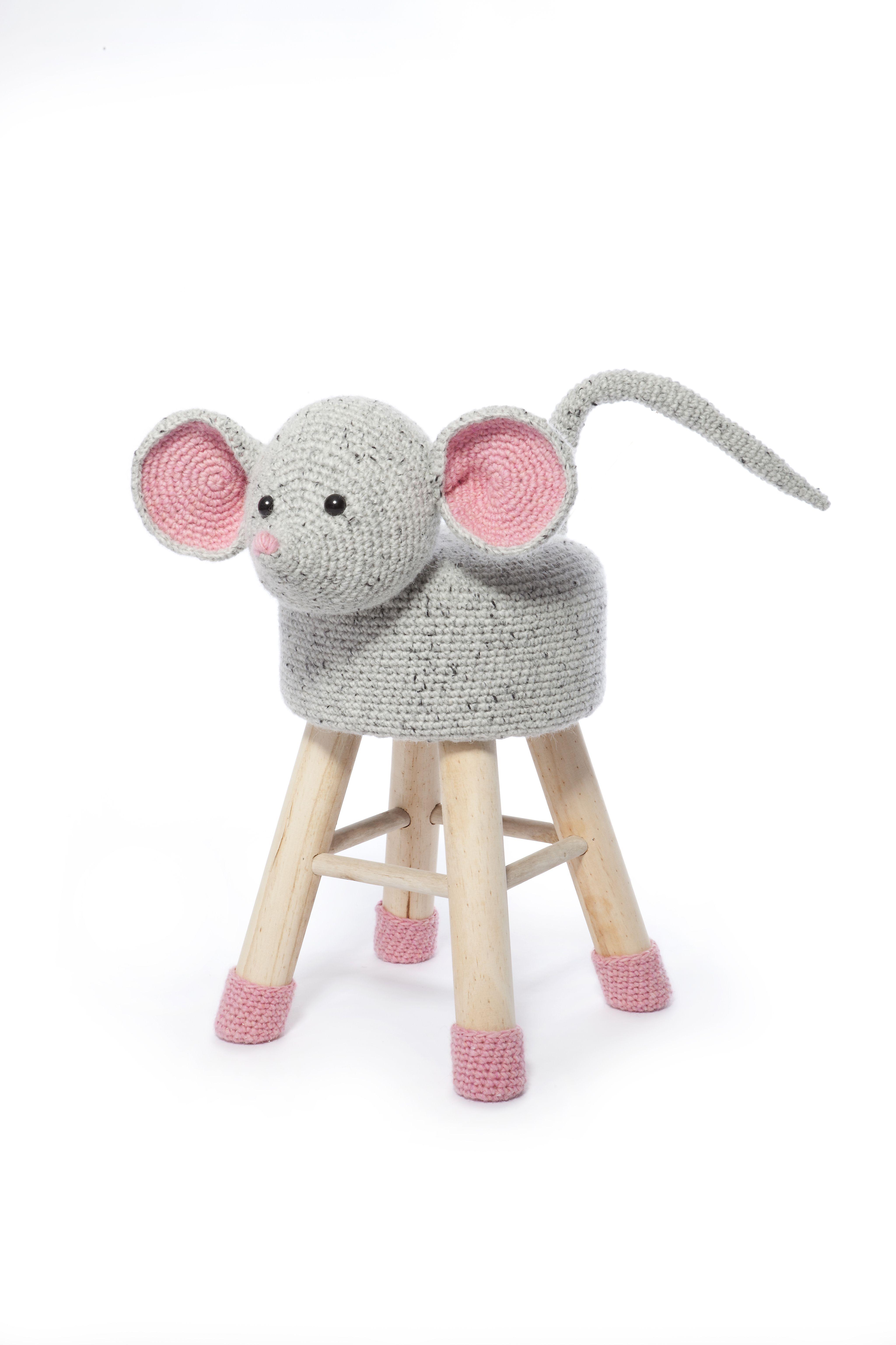 Dieren Kruk Haken Haakpret Crochet Animals Pinterest