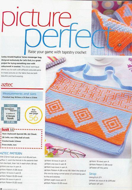Ravelry: Aztec pattern by Lesley Arnold-Hopkins | Crochet - Tapestry ...