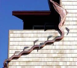 Decorative Gutter Downspout Home Ideas