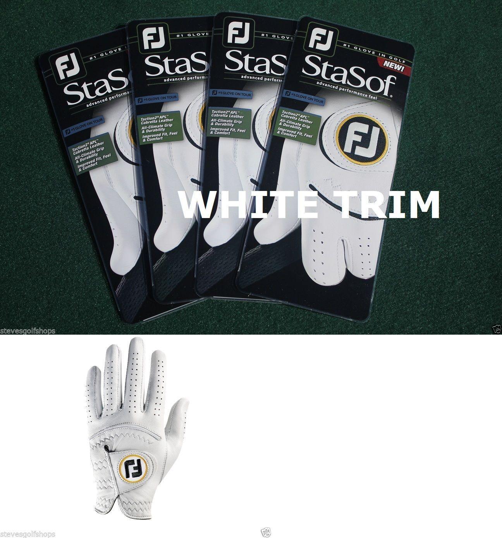 Mens gloves cadet - Golf Gloves 181135 4 New Footjoy 2016 Stasof Golf Gloves Mens Cadet Medium W