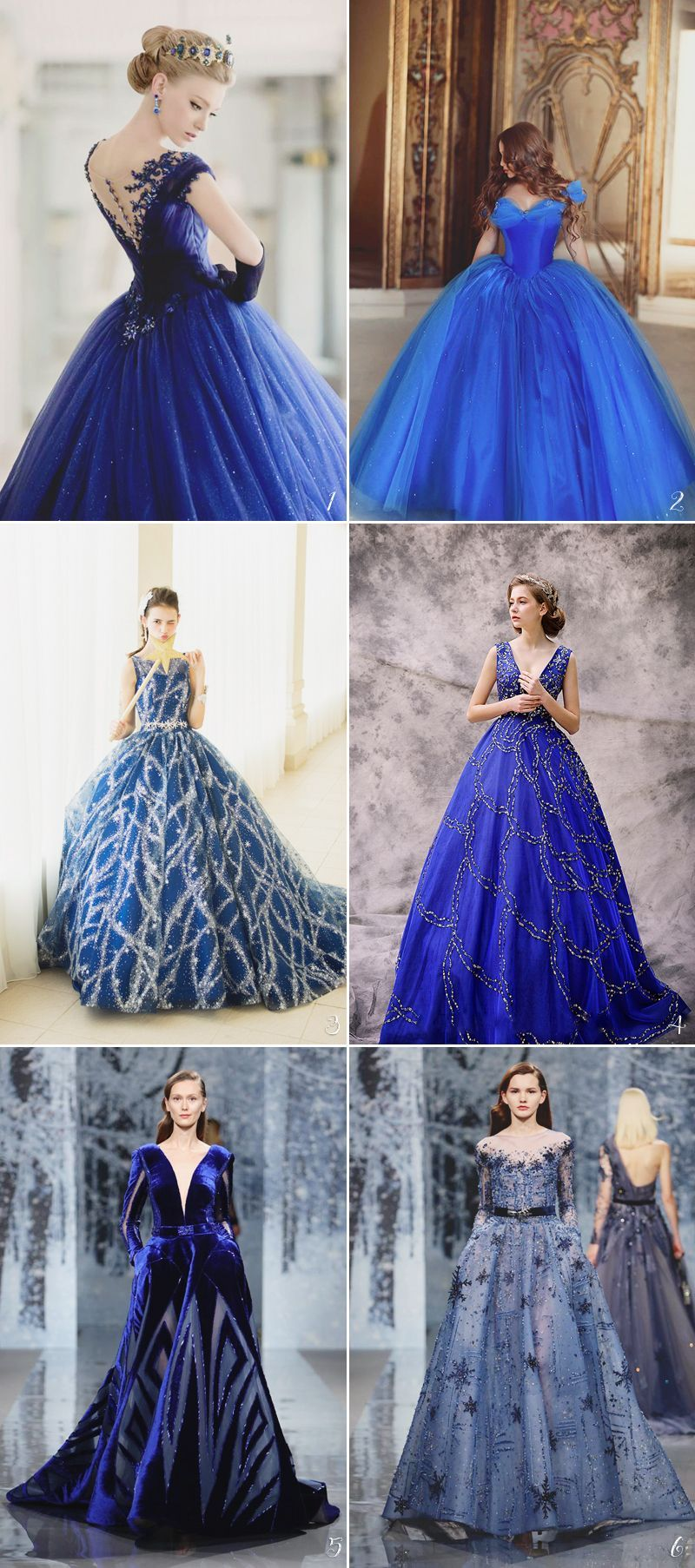 Wedding gown color blue   Unexpectedly Beautiful Wedding Dress Color Trends We Love  Starry