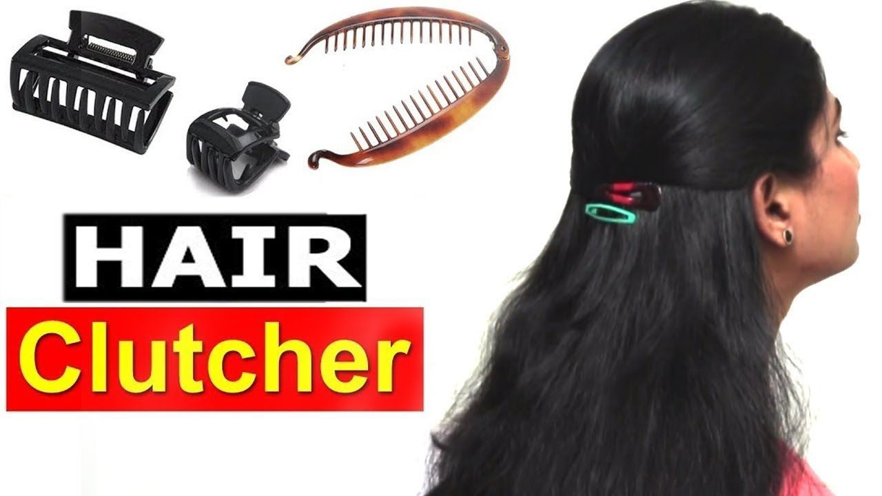 How to usetuck hair clutchers properly quick u easy hairstyles