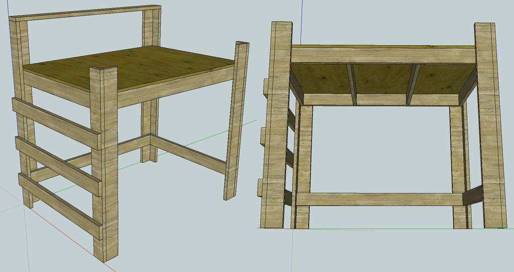 Loft Beds | Loft bed frame, Bed frame plans, Loft bed plans