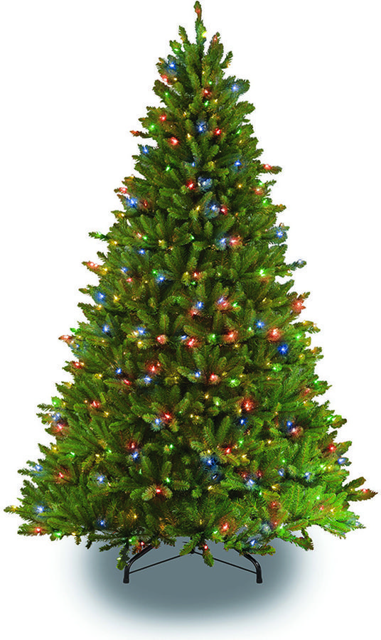 75 pre lit fraser fir artificial christmas tree christmastrees - Pre Lit Decorated Christmas Trees