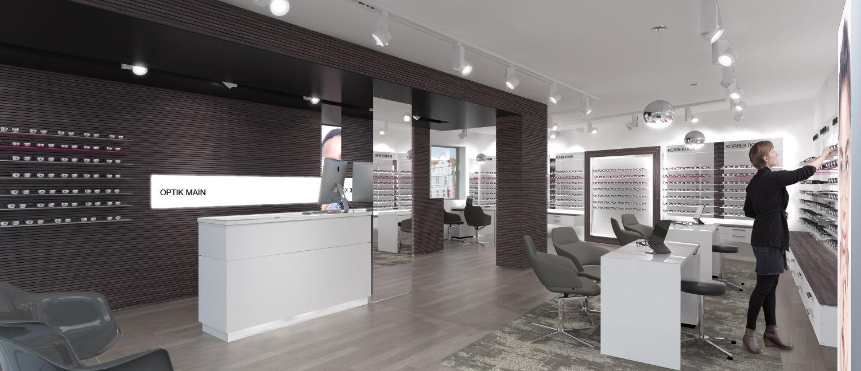 We did for one of our clients in Germany a optical / eyewear shop . Für einen unserer Kunden in Deutschland, haben wir einen Optiker gestaltet.