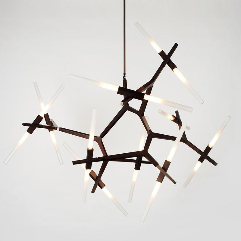 Minimalistic Industrial Sticks Modern Pendant Light Agnes Chandelier Lights Ceiling Lights