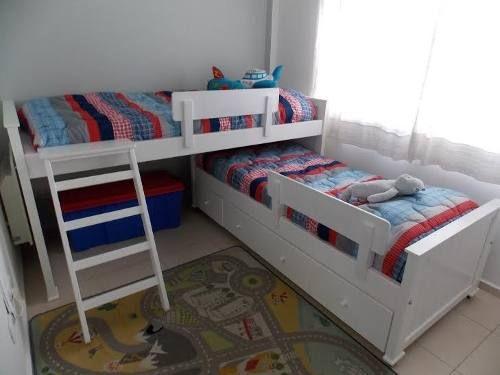Cama nido excelente terminacion camas en 2019 - Habitacion infantil cama nido ...