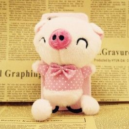 3D Plush Dolls Cute Pig iPhone 5/5S Case