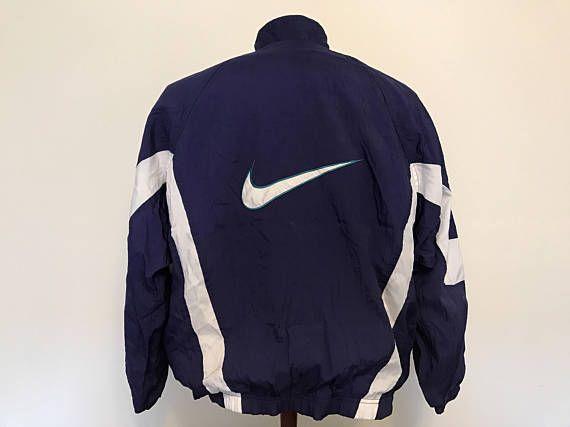 Evento esfuerzo resistirse  Vintage Nike chaqueta rompevientos szL 14-16kids   Nike jacket, Athletic  jacket, Fashion