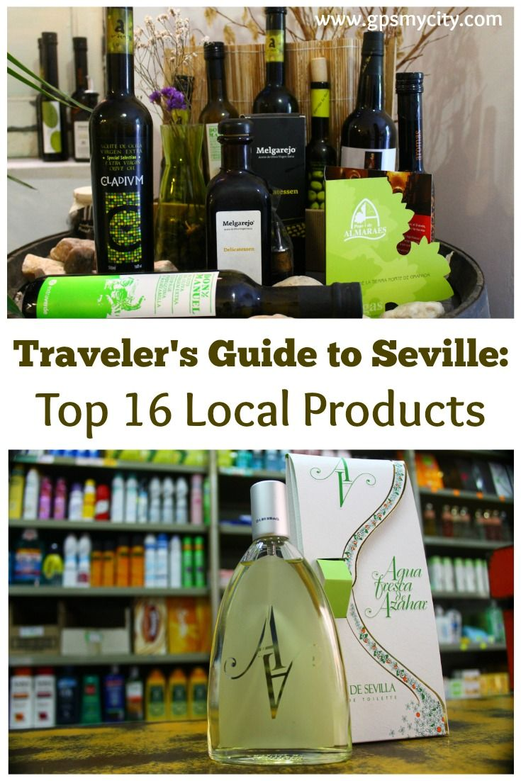 16 Uniquely Spanish Things to Buy in Seville #spanishthings
