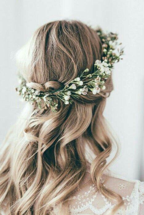 hairstyle en 2019 Coiffure de mariage romantique