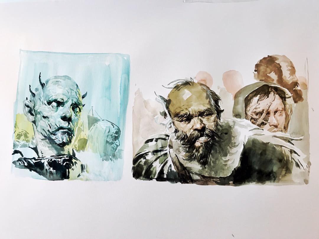 Kim Jung Gi Watercolor
