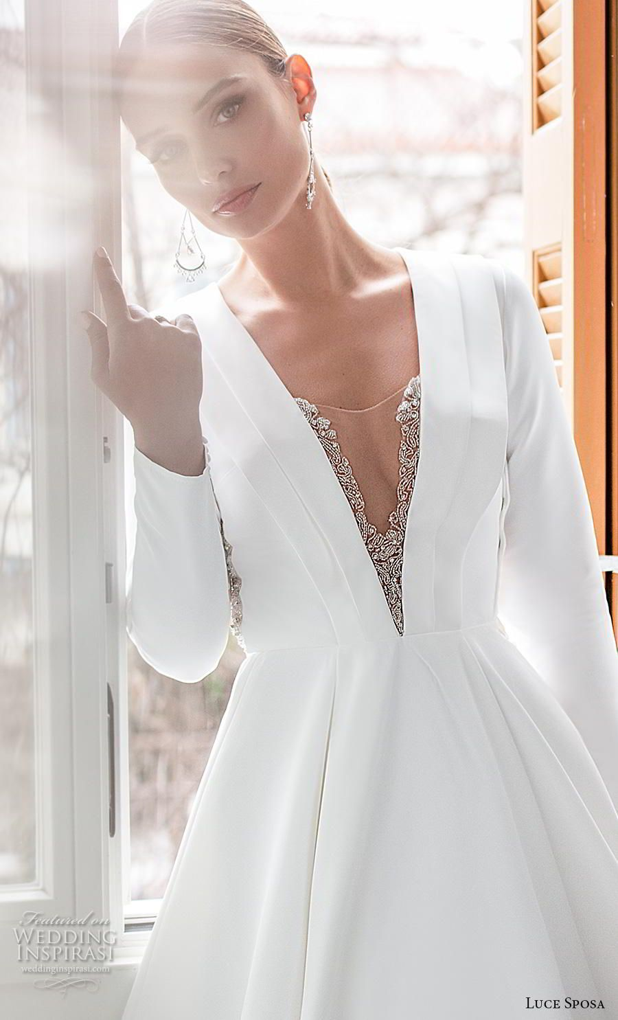 Luce Sposa 2020 Wedding Dresses Greece Campaign Bridal Collection Wedding Inspirasi Wedding Dress Guide Bridal Dress Stores A Line Wedding Dress [ 1485 x 900 Pixel ]