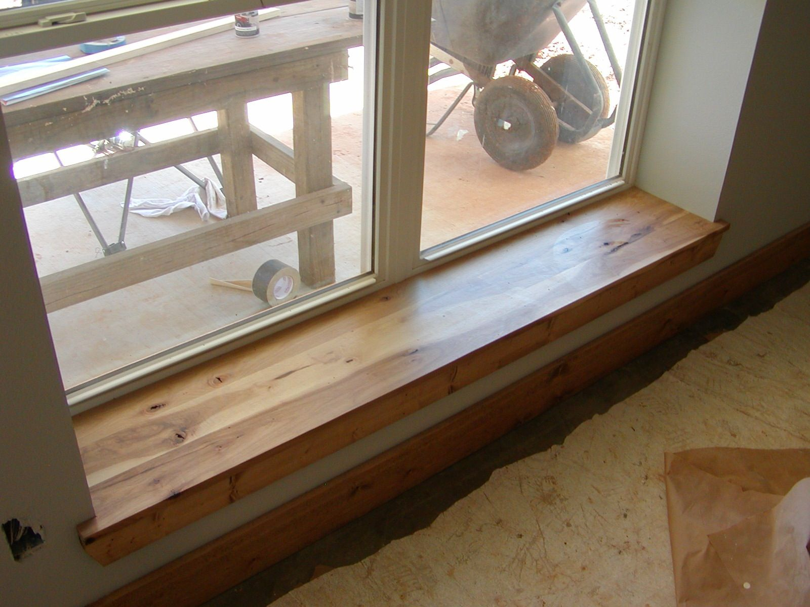 With 12 Inch Outside Walls All Window Sills Can Be Seats Here