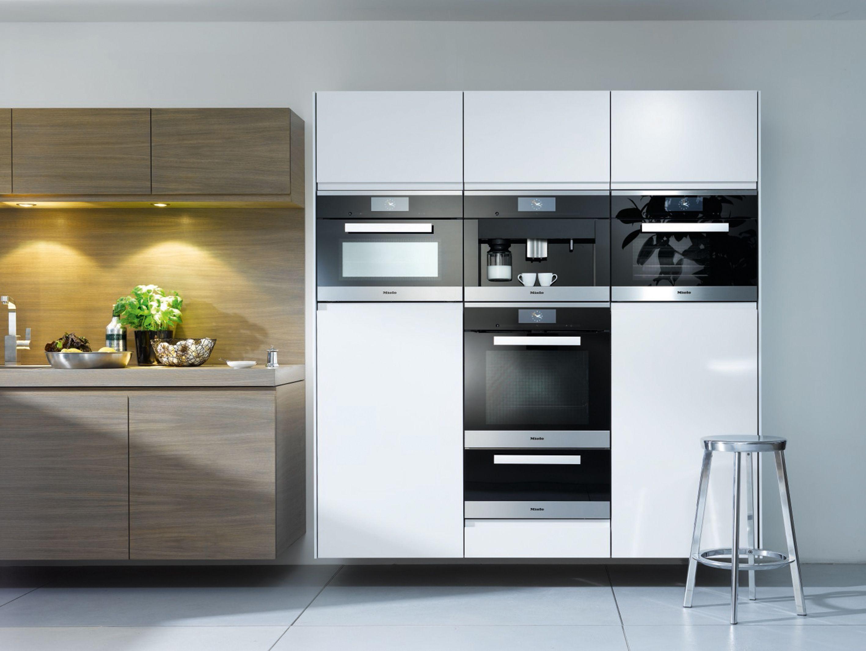 Miele Edelstahl Küchendesign, Moderne küche, Moderne