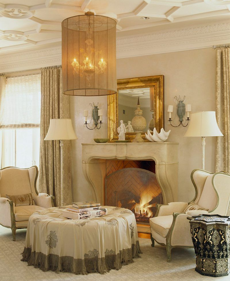 Modern Mix In Chevy Chase Living Room Design Inspiration Home Mantel Design