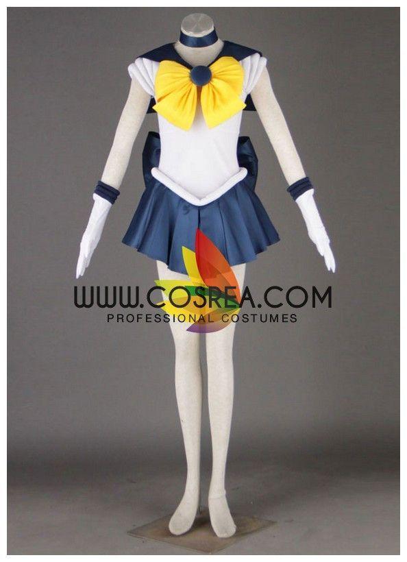 Anime Sailor Uranus Cosplay Costume Uniform Dress Set Sailor Moon Custom Made