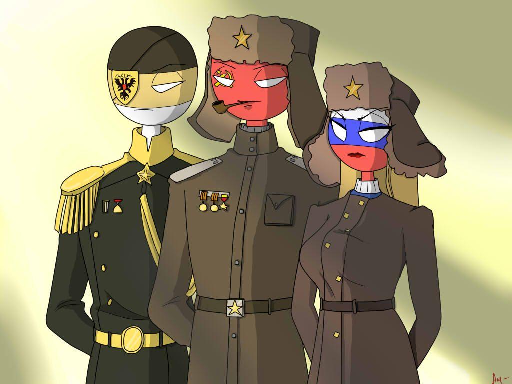 Countryhumans. Fem!Russia, USSR, Russian imperial/Россия ...