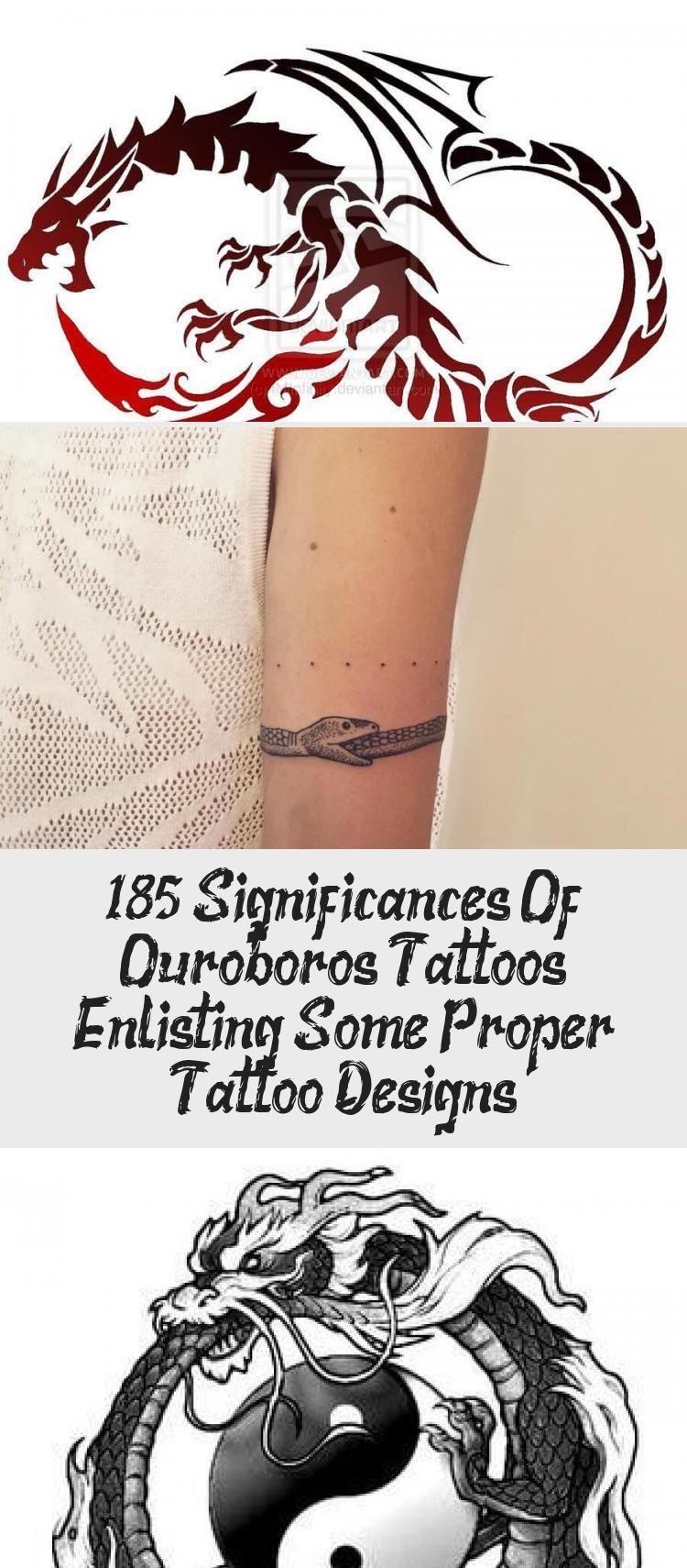 185 Significances Of Ouroboros Tattoos Enlisting Some Proper