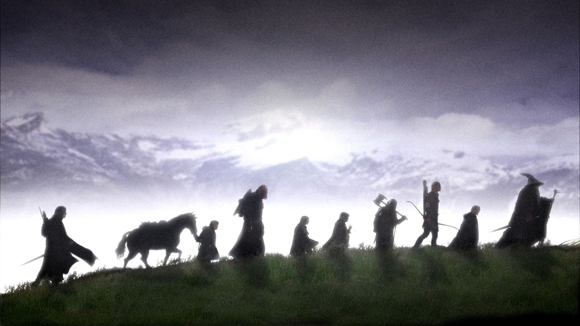 The Order That They Are In Is Best Thing Ever Gandalf First Then Frodo Because If Attacked Hes Closest To Lego And Gimli
