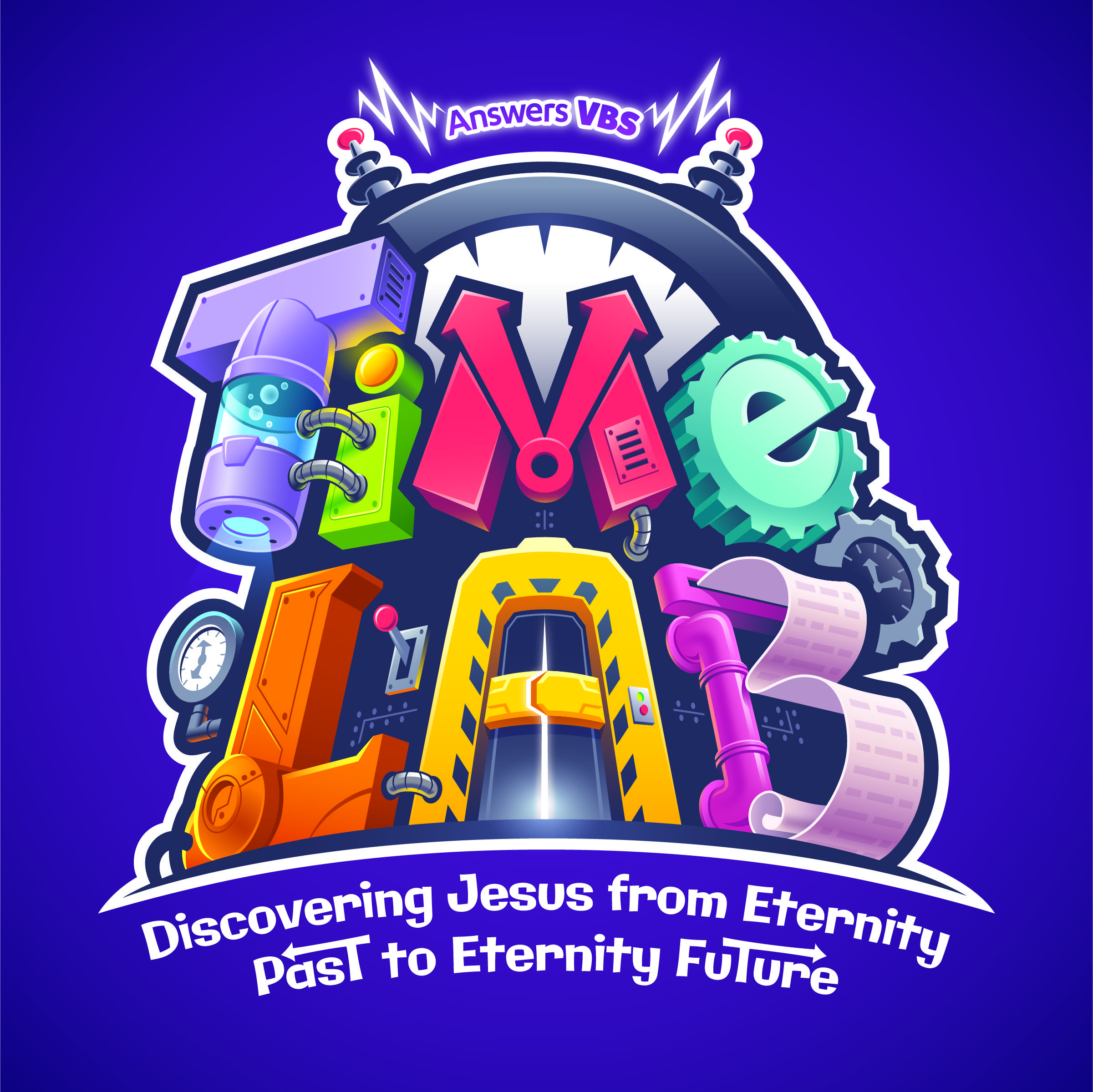 Time lab vacation bible school program for 2018 by answers vbs time lab vacation bible school program for 2018 from answers vbs answersvbs malvernweather Images