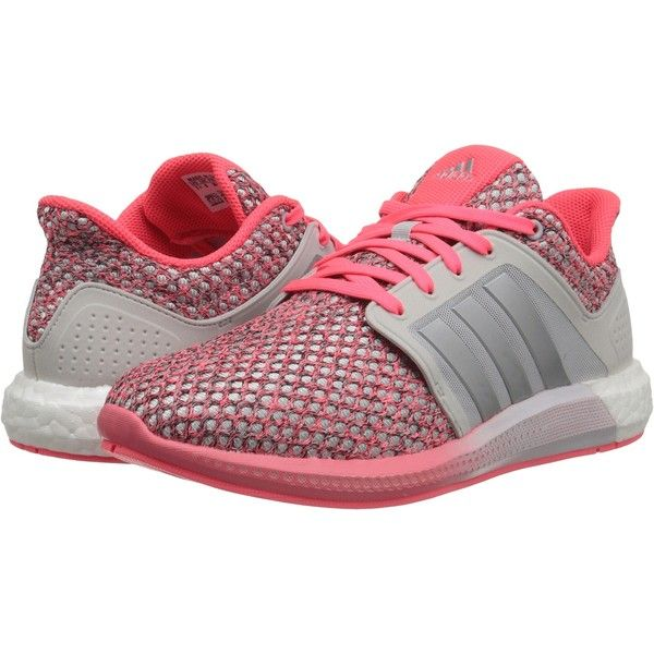 Womens Shoes adidas Running Solar Boost Pearl Grey/Silver Metallic/Light Flash Orange