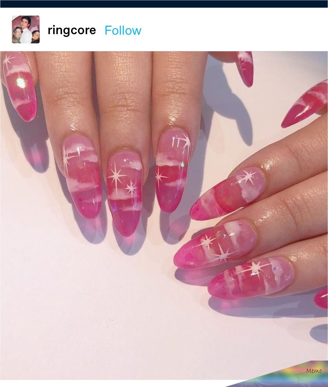 Pin By Tttayna On Nails In 2020 Pink Clear Nails Oval Acrylic Nails Clear Acrylic Nails