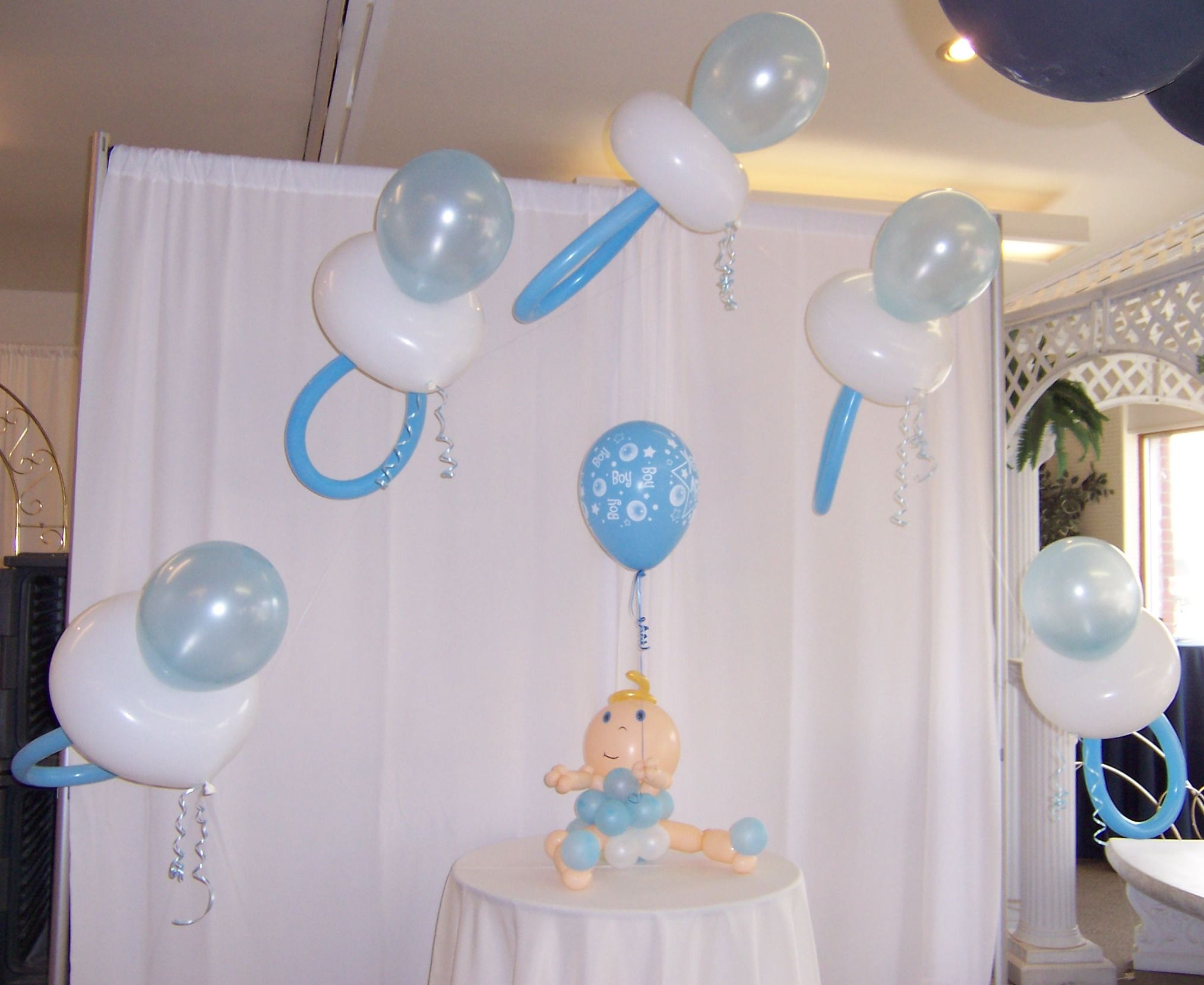 Stupendous 1000 Images About Baby Shower On Pinterest Baby Shower Balloons Hairstyles For Men Maxibearus