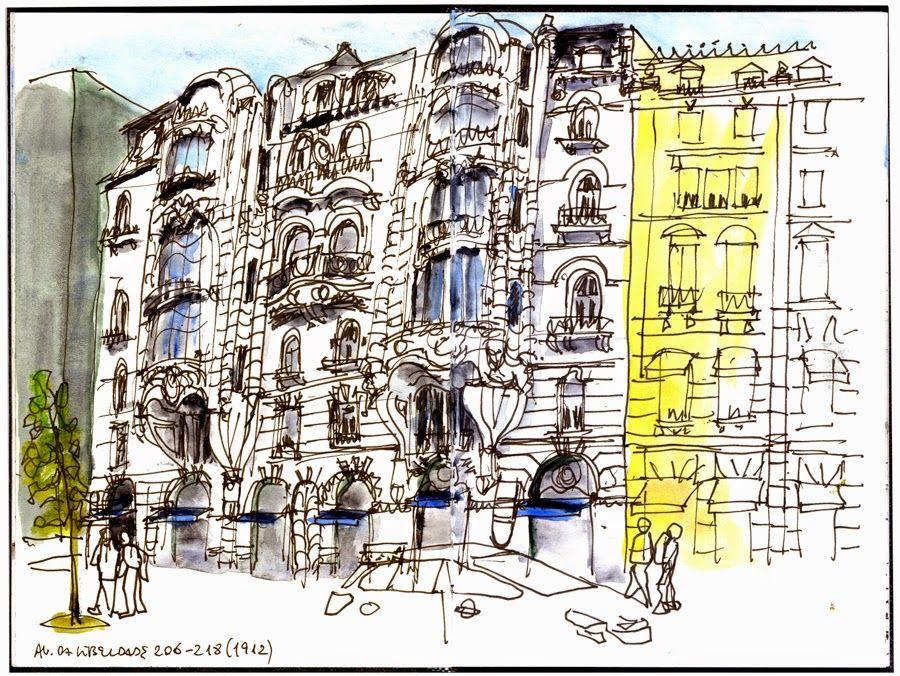 Old buildings in Lisbon Eduardo Salavisa