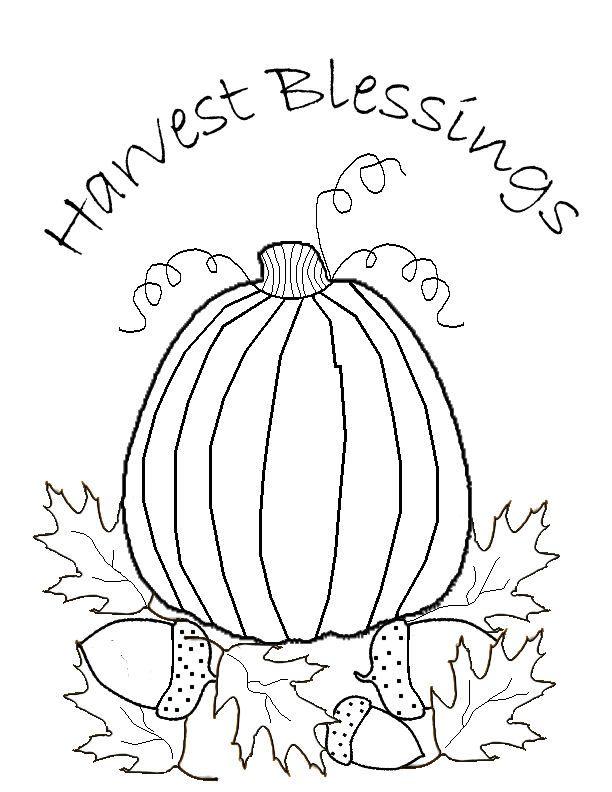 The Krazy Kraft Lady: *Freebie* Harvest Blessings Stitchery ...