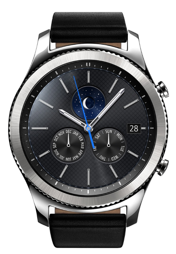 Samsung Gear S3 Classic Smartwatch This Is The Other Model They Re Coming Out With Check It Out Relojes Bonitos Reloj Realidad Virtual
