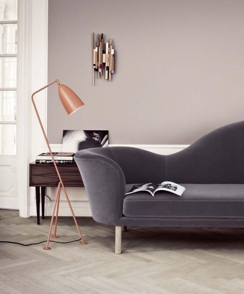 ▷ Wandfarbe Grau - Wohnen und einrichten mit der Trendfarbe - wandfarbe grau